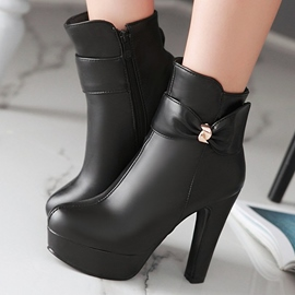 Ericdress Sexy Bowie Decorated Platform Knight Boots