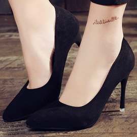Ericdress OL Suede Point Toe Pumps