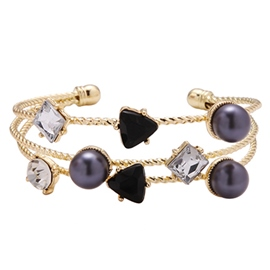 Ericdress Wonderful Multilayer Gold Plated Bracelet