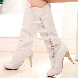 Ericdress Chic Rhinestone Decorated Knee High Boots