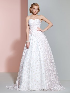 Ericdress Casual Sweetheart A Line Color Wedding Dress