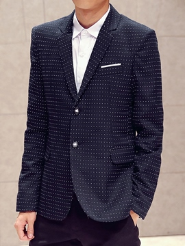 Ericdress Polka Dots Vogue Slim Men's Blazer