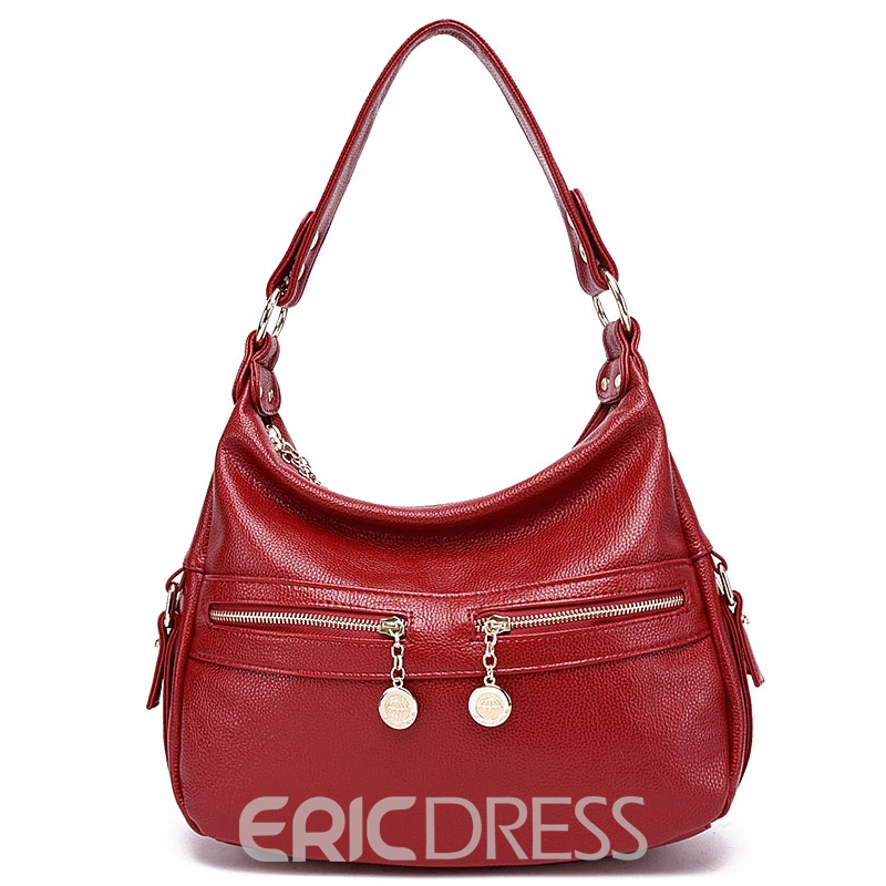 Ericdress Soft Color Block Handbag