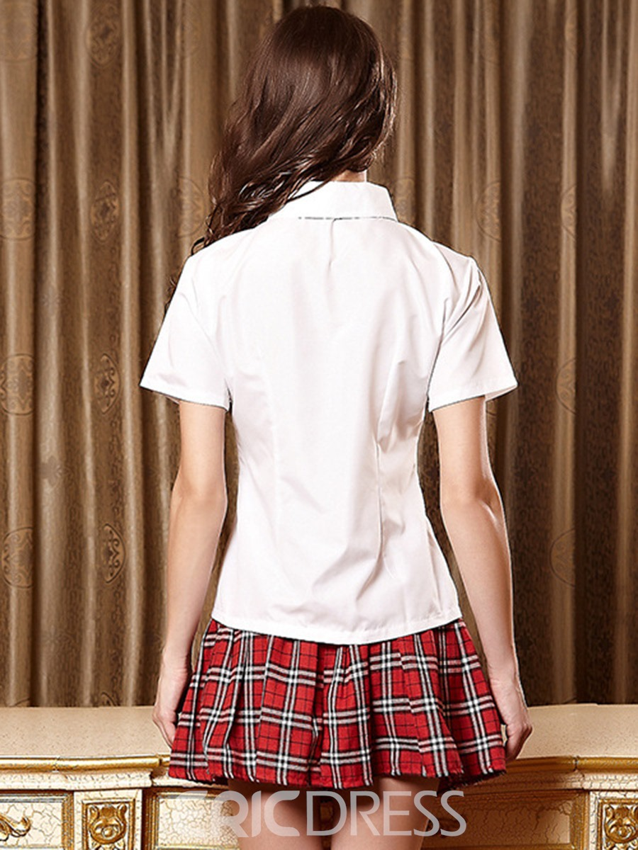 Ericdress Student Plaid Uniform Cosplay Costume