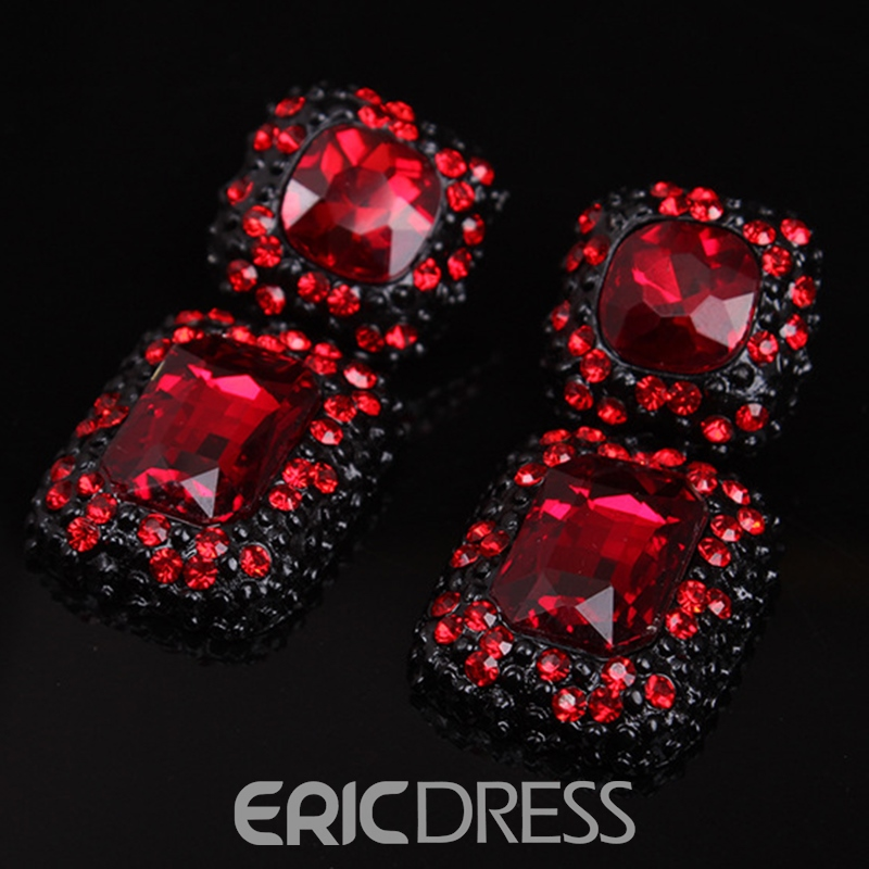 Ericdress Luxury Geometric Gemstones Jewelry Set