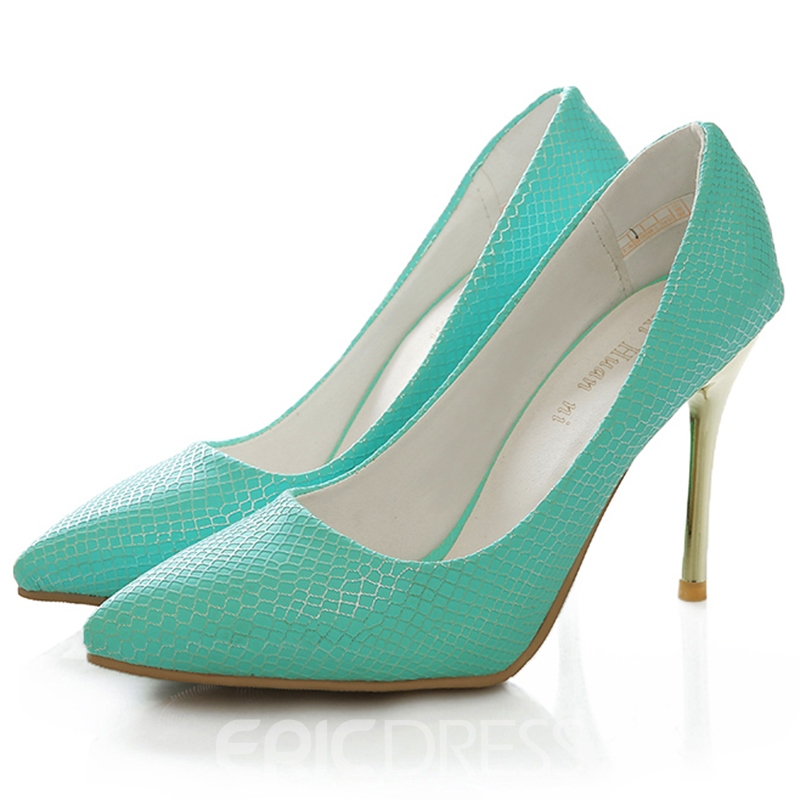 Ericdress Chic Point Toe Stiletto Pumps
