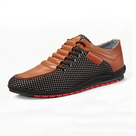 Ericdress Mesh Patchwork Lace up Men's Oxfords