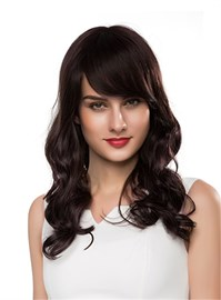 Ericdress New Charming Long Wavy Capless Human Hair Wig 22 Inches