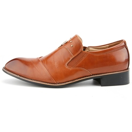 Ericdress Office Pointed Toe Slip-On Plain Men's Oxfords