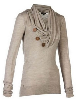 Ericdress Solid Color Heap Asymmetric Cool Hoodie