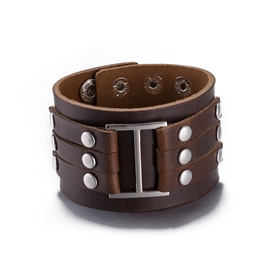 Ericdress Retro Rivets Design Men's Bracelet