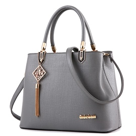 Ericdress Casual Embossed PU Handbag