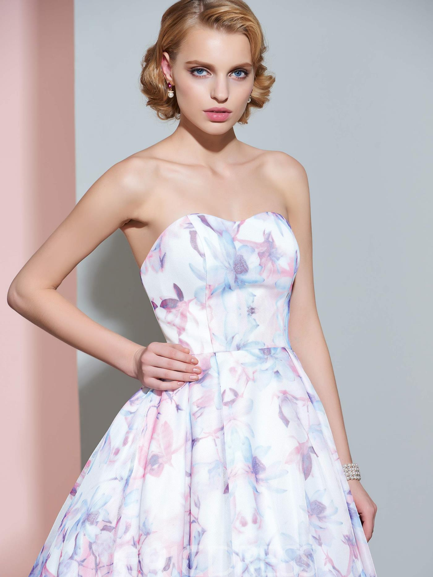 Ericdress Casual Sweetheart A Line Printed Wedding Dress