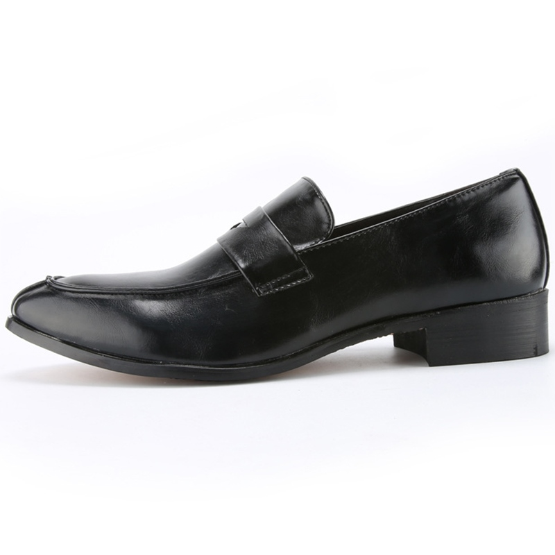 Ericdress Cool PU Brush-Off Slip-On Men's Oxfords