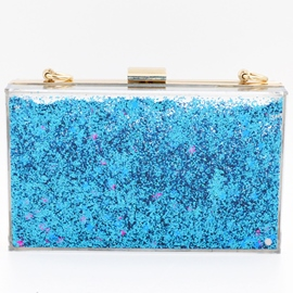 Ericdress Shiny Fluid Sequins Evening Clutch