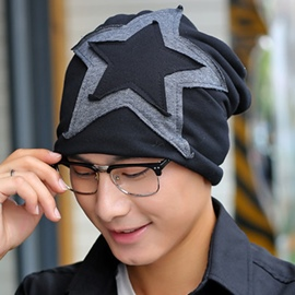 Ericdress Korean Style Star Printed Men's Chic Hat