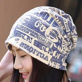 Ericdress Letter Print Cotton Hat