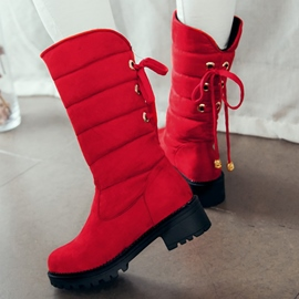Ericdress Lovely Tassels Snow Boots