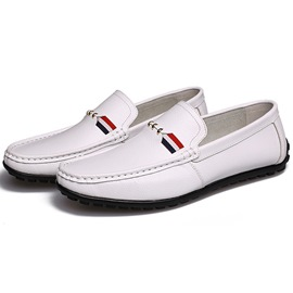 Ericdress Cozy Plain Men's Moccasin Gommino