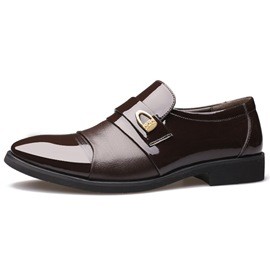 Ericdress Smart Patchwork Point Toe Men's Oxfords