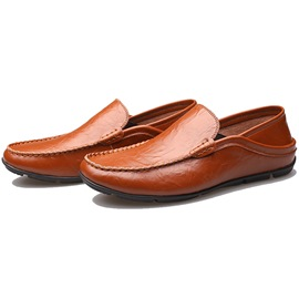 Ericdress Chic Embossed Men's Moccasin Gommino
