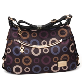 Ericdress Casual Polka Dot Print Crossbody Bag
