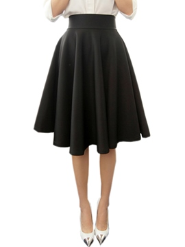 Ericdress Vintage Simple Usual Skirt