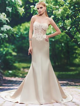 Ericdress Charming Sweetheart Beaded Mermaid Wedding Dress