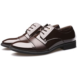 Ericdress Gentleman Patchwork Men's Oxfords