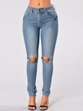 Ericdress Unique Pencile Jeans
