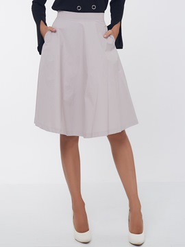 Ericdress Simple Usual Skirt