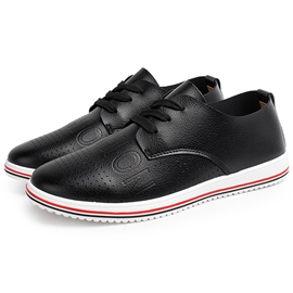 Ericdress Cozy Solid Color PU Men's Casual Shoes