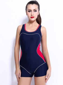 Ericdress Sport Sleeveless One Peice Swimwear (Plus Size Available)