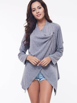 Ericdress Cape Style One-Button Knitwear