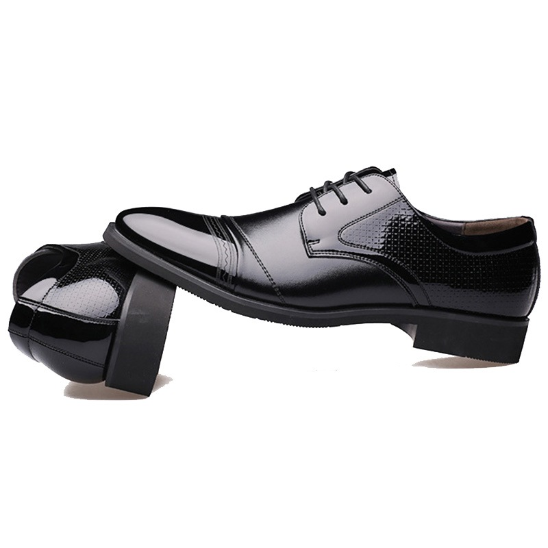 Ericdress Office Embossed Point Toe Men's Oxfords