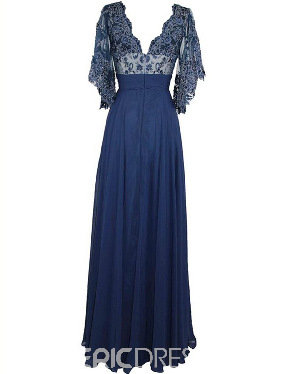 Ericdress Sleeves Sequins Lace Mother Of The Bride Dress