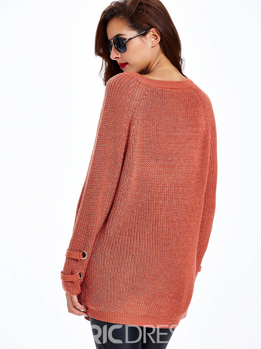 Sisjuly Cross Strap Loose Knitwear