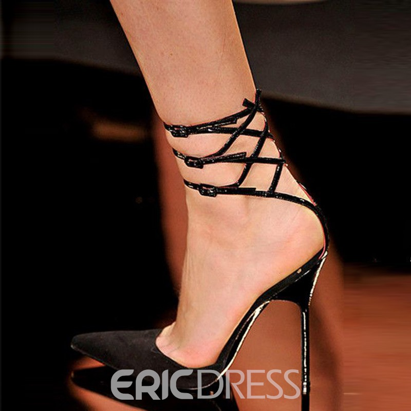 Ericdress Charming Point Toe Stiletto Sandals