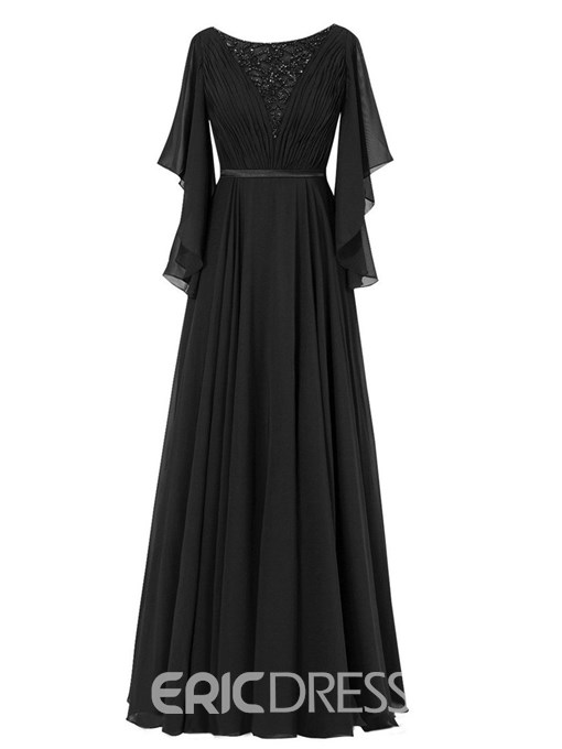 Ericdress Elegant A Line Long Mother Of The Bride Dress