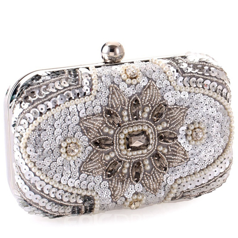 Ericdress Celebrity Beaded Embroidery Evening Clutch
