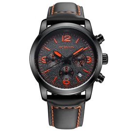 Ericdress Men's Luminous Waterproof Watch