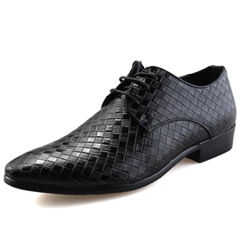 Ericdress Grid Point Toe Men's Brogues