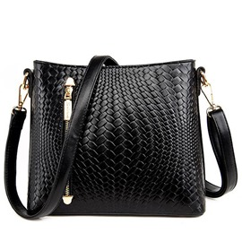 Ericdress Vogue Plaid Weaved Crossbody Bag