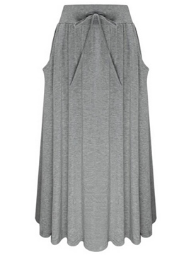 Ericdress Simple Casual Skirt