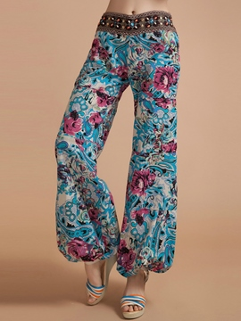 Ericdress Simple Print Lantern Pants