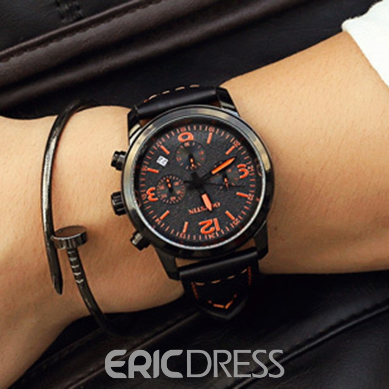 Ericdress JYY Men's Luminous Waterproof Watch