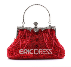 Ericdress Banquet Satin Korean Clutches & Evening Bags