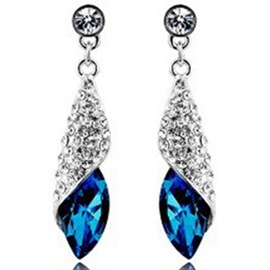 Ericdress Shining Rhinestone Pendant Earrings