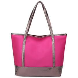 Ericdress Color Block Nylon Tote Bag