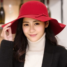 Ericdress Pure Color Imitation Woolen Hat